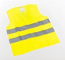 LEINA - Kinder-Warnweste gelb