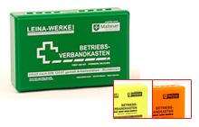 LEINA - Betriebsverbandskasten klein - grün - DIN 13157