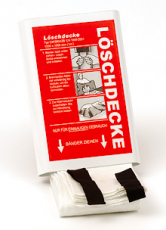 LEINA - Löschdecke, DIN EN 1869, Kunststoffbox, 180x160