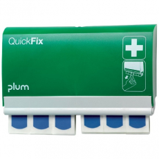5503 Plum QuickFix Pflasterspender inkl. 2 detectable Refills