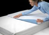 waschbare Krankenunterlage blau mit Seitenflügeln Comfort safe luxus