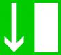 Rettungszeichen -  Notausgang