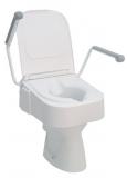 Toilettensitzerhöhung TSE150 mit Armlehne