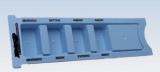 Medikamenten-Tagesdispenser 4-Fächer blau 100 Stück
