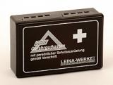 LEINA - GGVS-Gefahrgutkasten, Kunststoff, schwarz