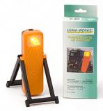 42004 LEINA - LED- Warnblinkleuchte, orange, in Faltschachtel