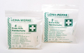 LEINA - 43015 Erste-Hilfe-Handschuhe, Vinyl, Größe XL, 100 Stück