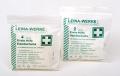 LEINA - Erste-Hilfe-Handschuhe, Latex, Größe M, 100 Stück