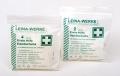 LEINA - Erste-Hilfe-Handschuhe, Latex, Größe L, 100 Stück