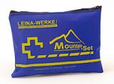 LEINA - Verbandtasche Mountain-Set, blaue Nylontasche