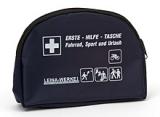 LEINA - Verbandtasche Freizeit-Tasche, schwarze Nylontasche