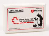 LEINA - Erste-Hilfe-Set für Heimwerker, Kasten, weiß