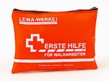 LEINA - Erste-Hilfe-Set für Waldarbeiter, Nylontasche, orange