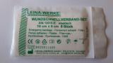 Wundschnellverband-Set 10 x 6 cm, 8 St. im Minigripbeutel für DIN 13157