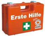 82099 LEINA - Erste-Hilfe-Koffer Quick, orange, leer - für DIN 13157