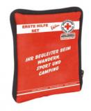 LEINA - Verbandtasche Reise-Set,  DRK rote Nylontasche