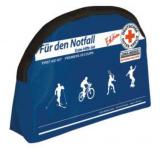 LEINA - Verbandtasche Freizeit-Tasche, DRK schwarze Nylontasche
