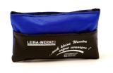 LEINA - Mini-Verbandtasche, schwarz-blau Nylontasche
