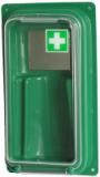 Wandbehälter für eine Augenspülflasche Barikos
