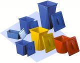 C-Müll Infektionsschutz Box 50 Ltr. mit verschweisbarem Deckel
