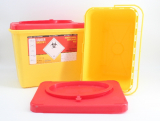 Kanülenabwurfbehälter ratiomed Safe-Box 6,0 Ltr.