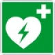 Rettungszeichen /Rettungsschild Erste Hilfe, 200 x 200mm, Rettungszeichen nach DIN 4844 = Kunststoff