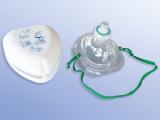 Taschenmaske mit Ventil und  Bakterienfilter in Hartschale